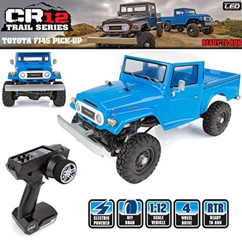Team Associated 1/12 CR12 Toyota FJ45 4X4 Pick-Up Truck RTR, Blue