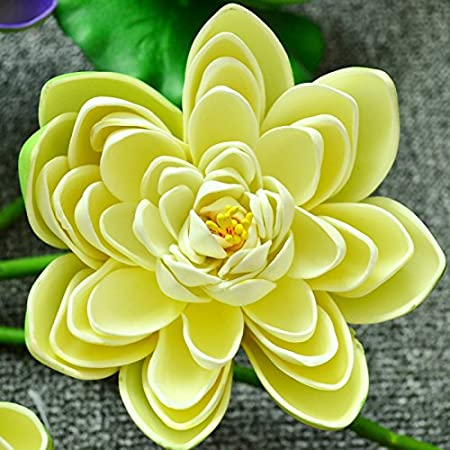 ZHUDJ Piscina Lotus Lotus Arnés Falso Pequeña Flor De Loto Flor De ...