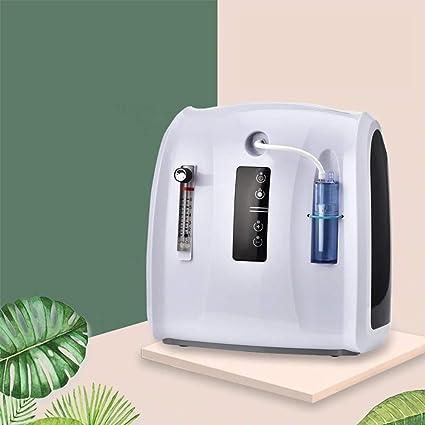 TOPQSC Generador de Concentrador de Oxígeno Portátil, Purificador de Aire Doméstico de La Máquina de Oxígeno 1-6L / min para uso Doméstico de Automóviles de Viaje: Amazon.es: Salud y cuidado personal
