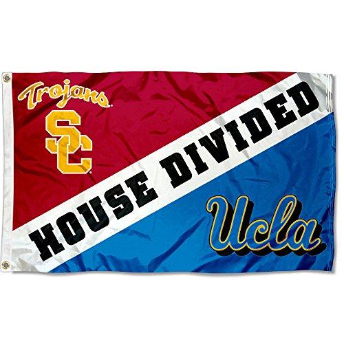 Tailgate Usc Trojans Flag (Flag for Divided House - USC vs. UCLA)