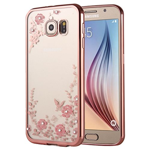 Beautiful Cases & Covers for Samsung Galaxy A9(2016) / A900 Flowers Patterns Electroplating Soft TPU Protective Cover Case (SKU : SCS2610A)