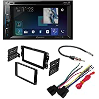 PIONEER AVH-500EX 6.2 TV CD MP3 DVD IPHONE USB BLUETOOTH IPOD CAR STEREO Car Radio Stereo 2-Din Dash Kit Harness for 2006-16 Buick Chevrolet GMC Pontiac