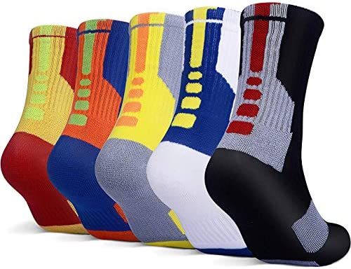YWLSTM Athletic Basketball Cushioned Compression product image