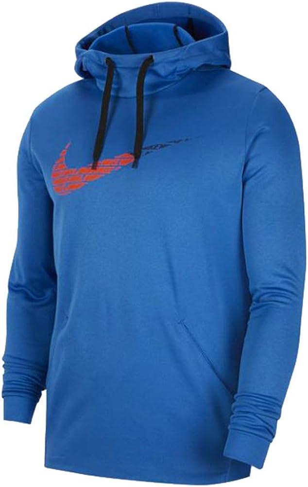 Nike Mens Therma Fleece Pull Over GFX 2 Hoodie.2 Bv2784-484