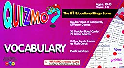 Learning Advantage 8211 QUIZMO Vocabulary Card