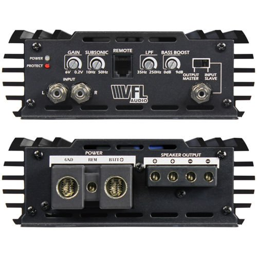American Bass VFL4800-1D Class D Mono Hybrid Amplifier 4480 Watts