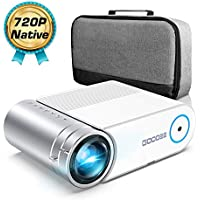 GooDee G500 4000-Lumens Portable Projector
