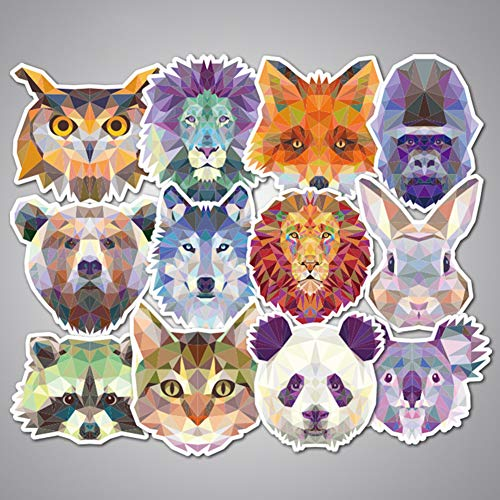 Cool Teen Animal Cartoon Laptop Stickers Water Bottle Vinyl Waterproof Cars Motorcycle Bicycle Skateboard Luggage Bumper Bomb Decal 35pcs Pack
