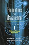 img - for Foundations of Measurement Volume I: Additive and Polynomial Representations (Dover Books on Mathematics) book / textbook / text book