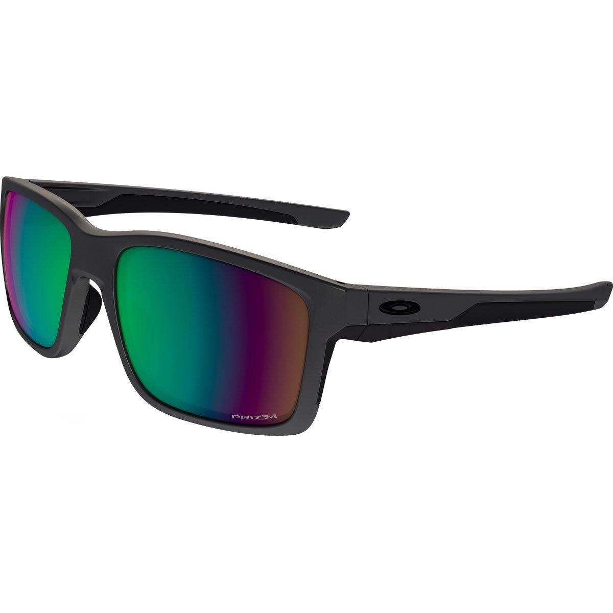 Oakley Mens Mainlink Polarized Sunglasses, Steel/Prizm Shallow Water, One Size
