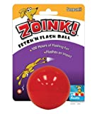 Sergeants Zoink Fetch n Flash Dog Ball44; Red - Case of 12