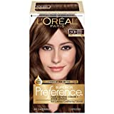 chestnuts L'Oréal Paris Superior Preference Permanent Hair Color, 5CB Medium Chestnut Brown