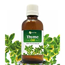 THYME OIL 100% NATURAL PURE UNDILUTED UNCUT ESSENTIAL OIL 15ML