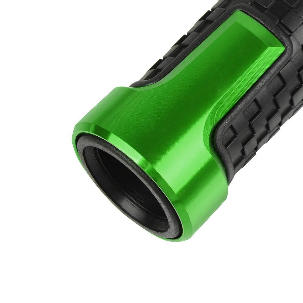 Universale 22 mm 7//8Poign/ées De Guidon De Moto De pour Kawasaki Z250 Z650 Z750R RR Z800 Z900 Z1000 250R 300R 400R 500R 650R 1000R ZX-10R 6R 12R-Vert