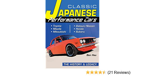 Classic japanese performance cars history legacy cartech ben classic japanese performance cars history legacy cartech ben hsu ebook amazon fandeluxe Images