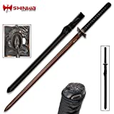 Shinwa Abyss Handmade Katana/Samurai Sword - Double-Edged; Hand Forged...