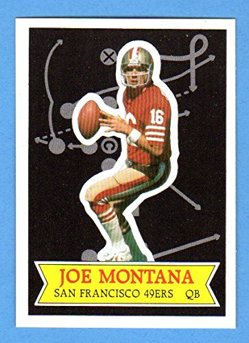 Joe Montana 1984 Topps Football Glossy *Send-In* (Great Centering) (Super Bowl Year) **Hall of Famer** (49ers) ()