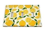 Triple Kitchen Light Switch Plate in Lemonade (292T)