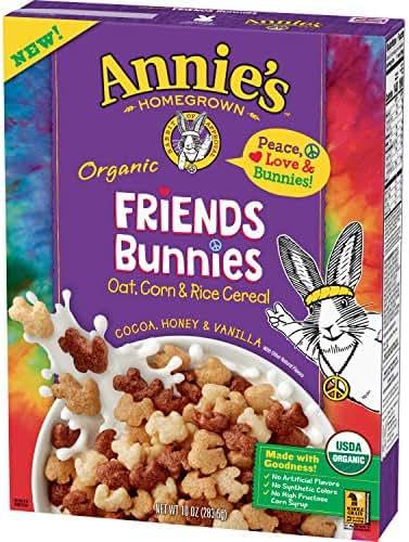 Breakfast Cereal: Friends Bunnies