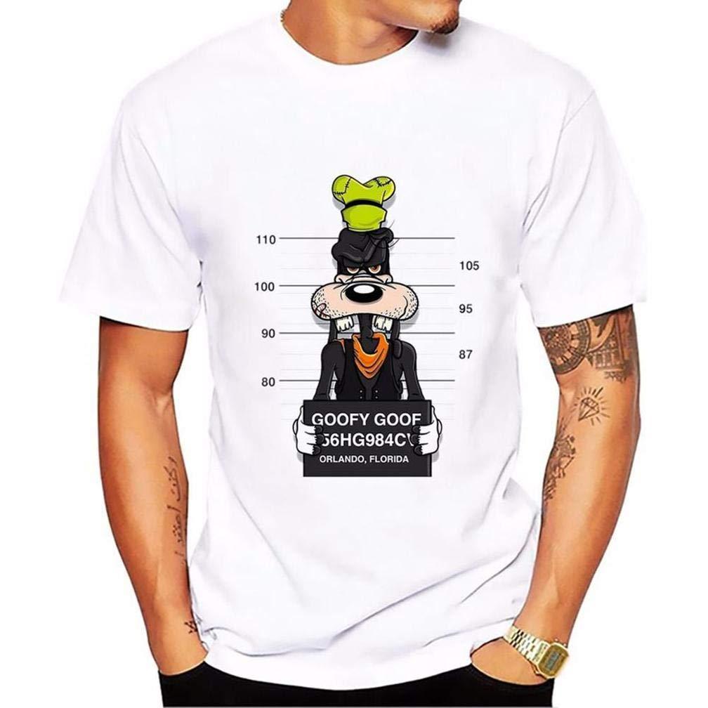 Goofy Goof S Printing S Funny Short Sleeves Shirts