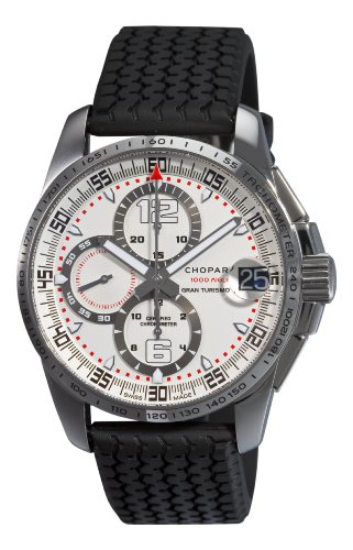 Price comparison product image Chopard Men's 168459-3015 Mille Miglia GT XL Chronograph White Dial Watch