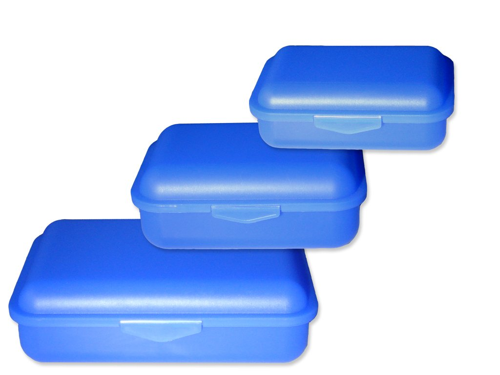 Libro Steiner Clic scatole set 3pezzi blau Buchsteiner GmbH & Co. KG