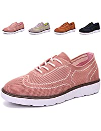 Women's Lightweight Mesh Oxford Shoes Fashion Sneakers...