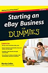 Starting an eBay Business For Dummies Kindle Edition