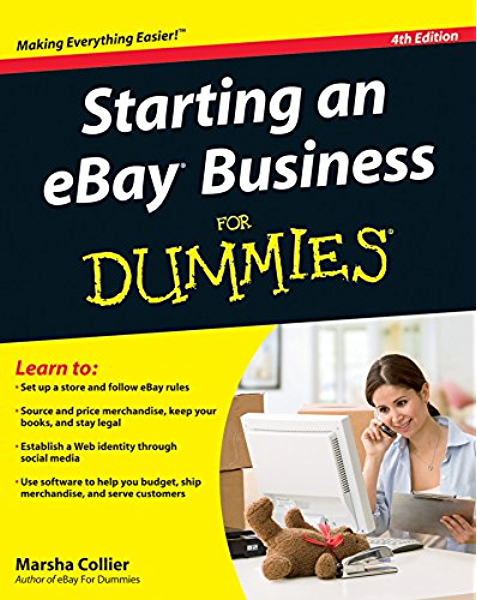 Amazon Com Starting An Ebay Business For Dummies Ebook Collier Marsha Kindle Store