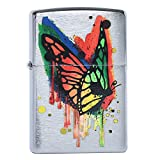 Zippo 29392 BUTTERFLY Lighters Made in USA South Korea Version