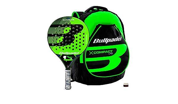 Bullpadel Pack Supreme Green + X-Compact: Amazon.es: Deportes y ...