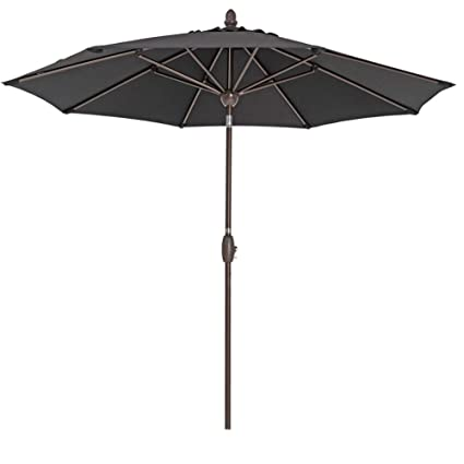 Amazon Com Sorara Patio Umbrella 9 Outdoor Table Market Umbrella