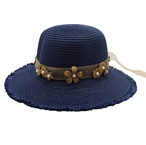 7bfce2a2f54 Aabigale beautiful 2018 Letter Lace Webbing Cap Big Brim Ladies Summer  Straw Hat Youth Hats For