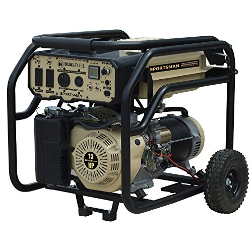 Sportsman 7,500 Surge Watts Runs On Gasoline Dual Fuel Gener