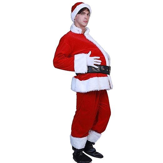 Disfraz de Papá Noel para el vientre de la cerveza del ...