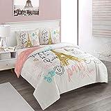 Heritage Kids Bounjour Paris 3 Piece Comforter Set, Full/Queen