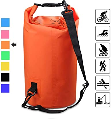 Heavy Duty Kayak Canoe Waterproof Dry Bag 5L 10L 15L Storage Sack Travel Outdoor