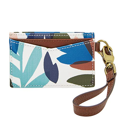 (Fossil Women's Floral Cardcase with Wrislet Wallet)