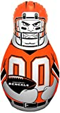 NFL Cincinnati Bengals Tackle Buddy Inflatable Punching Bag, One Size, White