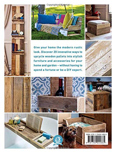 Pallet Craft: 20 Creative Makes Using Wooden Pallets: Emma ...