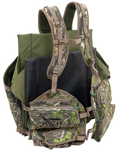 ALPS OutdoorZ NWTF Impact Turkey Vest Standard, Mossy Oak Obsession
