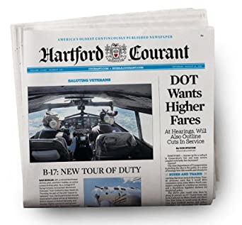 Hartford Courant delivers by AM on weekdays, AM on Saturdays, and AM on Sundays. After the initial selected subscription period your weekly .