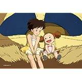 (My Neighbor Totoro) 2 way back 150 piece puzzle mini Studio Ghibli cinema art 2 Shot Series 150-G13 (japan import)