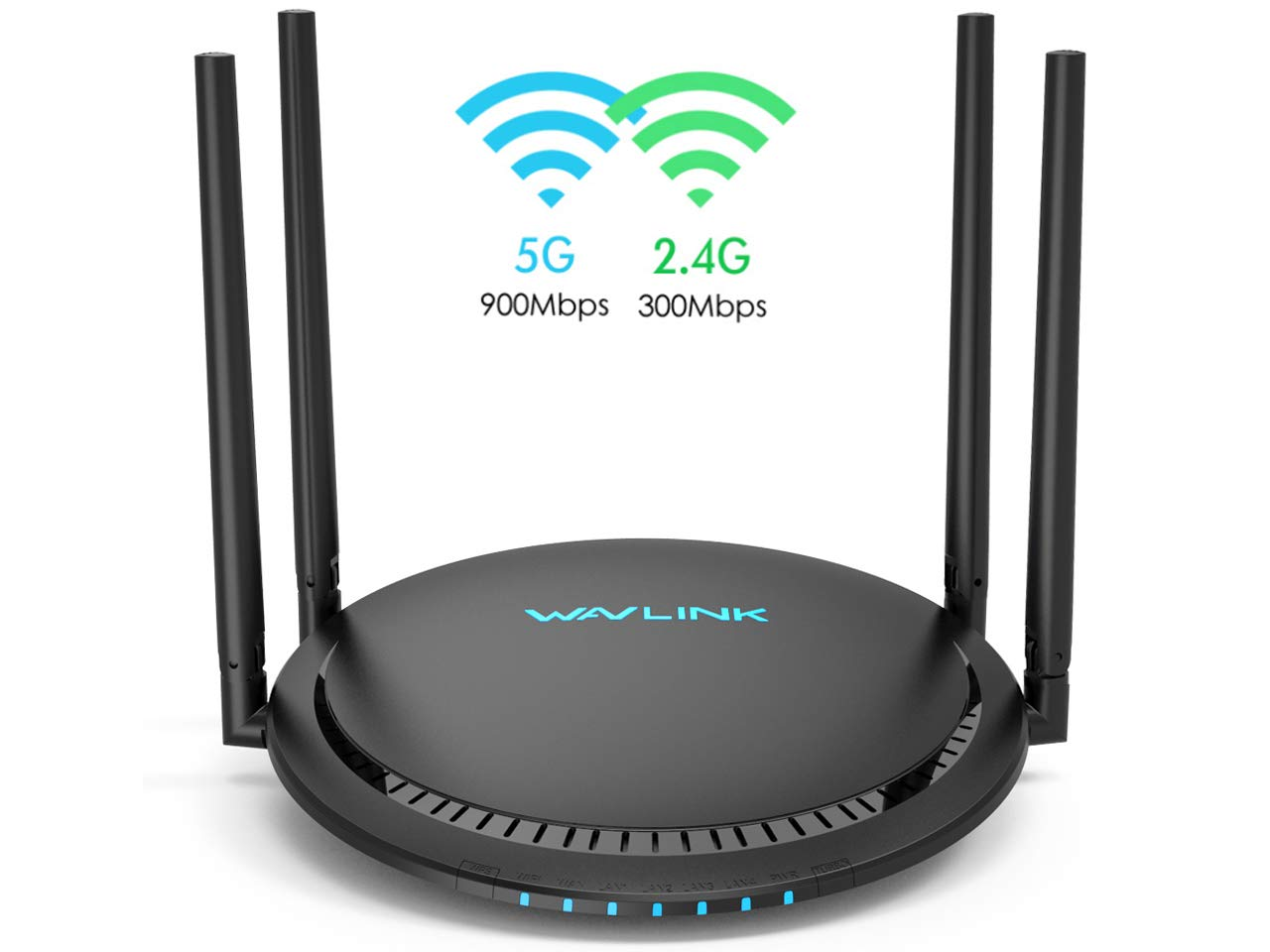 WiFi Router,Wavlink Remote AC1200 Smart WiFi Router with Touchlink Function,Computer Router High Speed 2.4G+5GHz Dual Band Gigabit Wireless Internet Router for Online Game&Home by WAVLINK