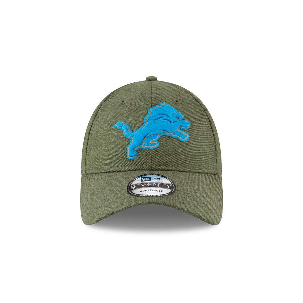 New Era NFL Detroit Lions 2018 Salute to Service Sideline 9Twenty Adjustable  Cap  Amazon.co.uk  Sports   Outdoors eb594ae775f8