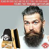 Beard Brush & Comb Set for Men's Care | Giveaway