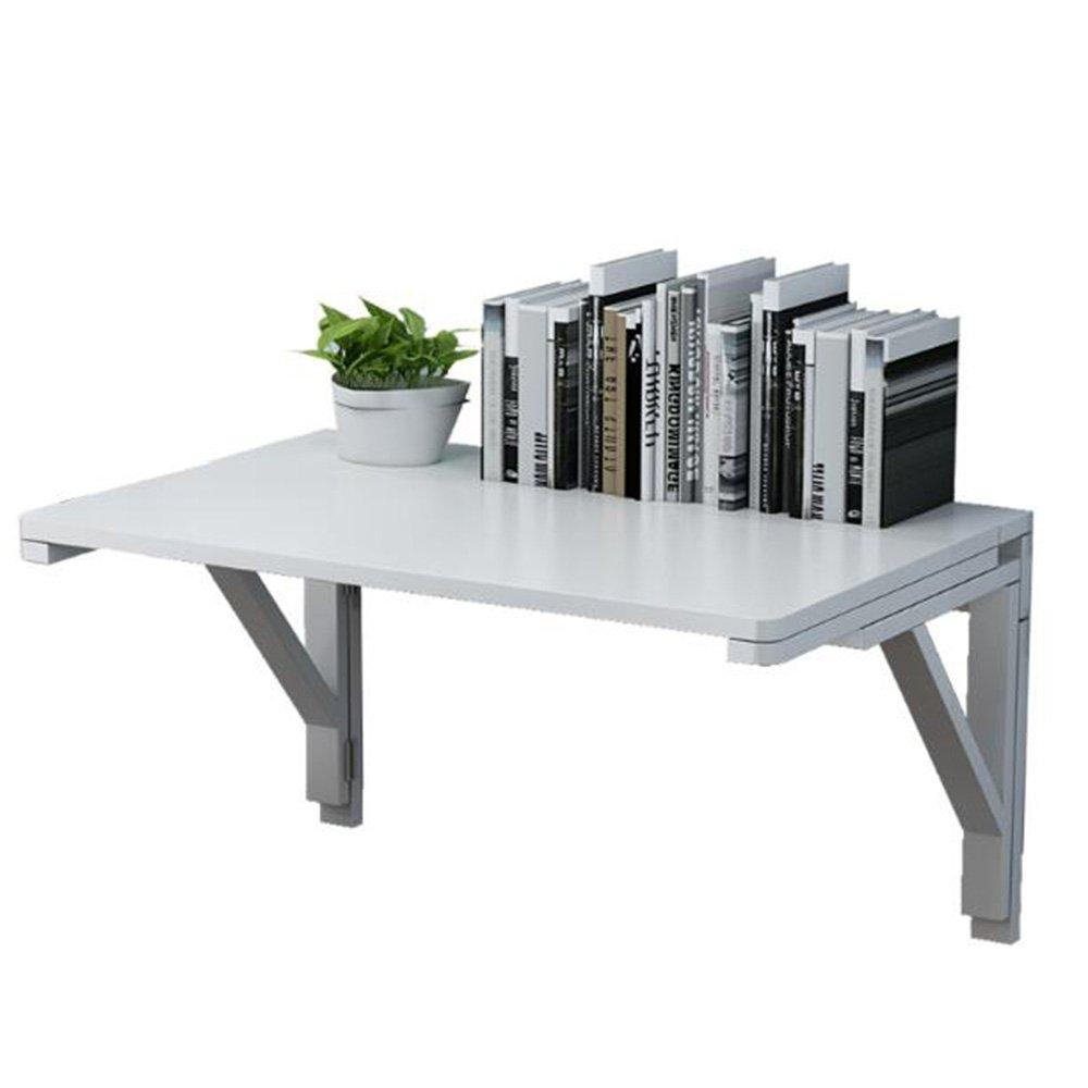 XIAOLIN 二重ブラケットの壁のテーブル壁の壁のテーブルの壁のテーブルの折りたたみテーブル無垢の木の壁のテーブルコンピュータのデスクのダイニングテーブルの本テーブルの壁のテーブルオプションのサイズ (色 : 01, サイズ さいず : 100*40) B07D52XSXF 100*40|01 1 100*40
