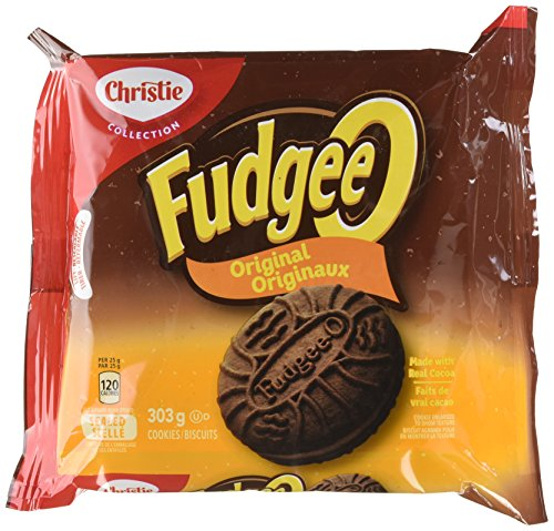 Christie Fudgeeo Original,Chocolate, Cookies, 303g/10.68oz,{Imported from Canada}