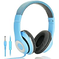 AUSDOM Lightweight Over-Ear Wired HiFi Stereo Headphones...