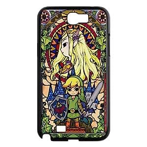 DIY Stylish Printing Game The Legend of Zelda Cover Custom Case For Samsung Galaxy Note 2 N7100 MK1M442445